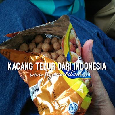 Kacang telur dari Garuda Indonesia