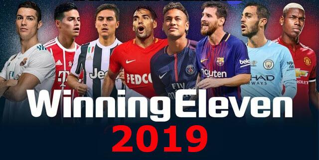 تحميل لعبة we 12 للاندرويد من ميديا فاير مود winning eleven 2019