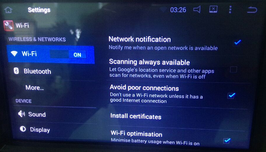 How to Fix When Wifi Issues Happen to Android Car GPS Radio
