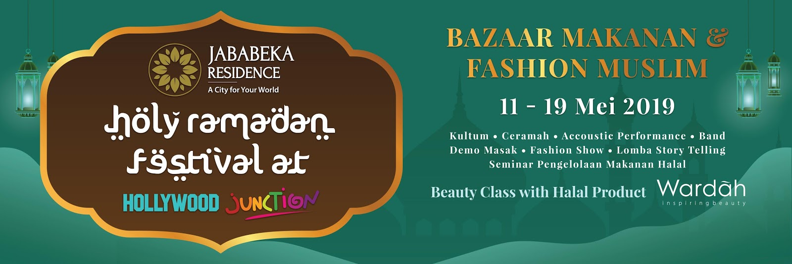 Spanduk Lomba Fashion Show muslim