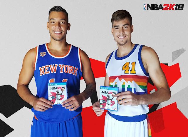 NBA 2K18 nombra emabajadores en España a Willy y Juancho Hernangómez
