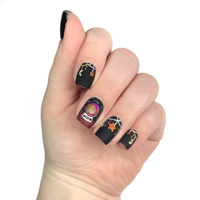 Crystal Ball Nail Art