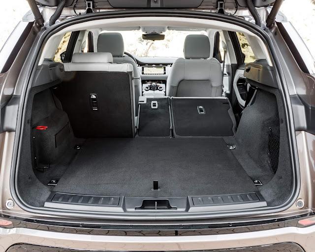 Novo Range Rover Evoque 2020 - porta-malas