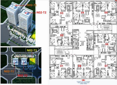Giới thiệu chung cư N02T2 Ngoại Giao Đoàn