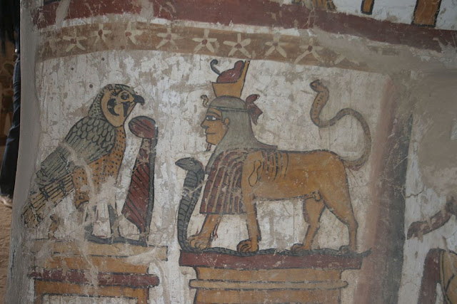 Paintings from the tomb of Petosiris at Muzawaka (XVIII)