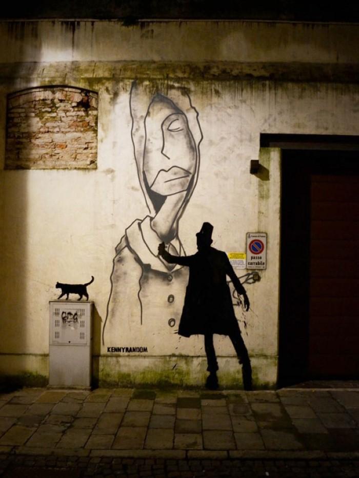 Kenny Random. Итальянский уличный художник 20