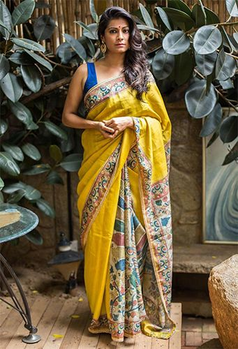 Indian Sarees Names, Prints & Different Types