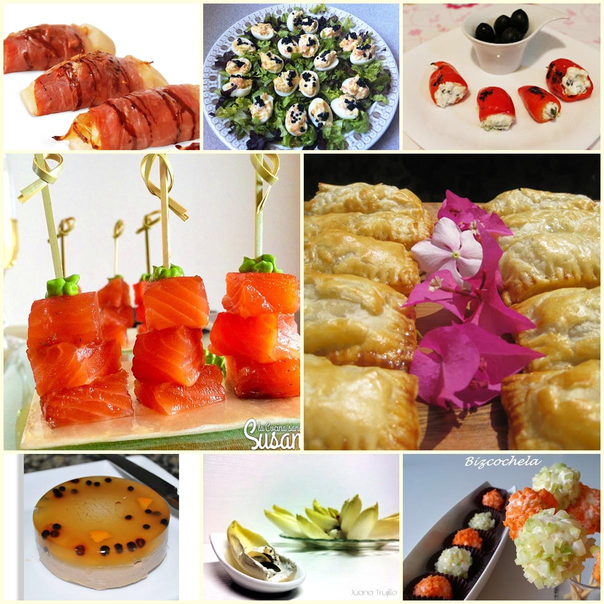 Recetas y a cocinar se ha dicho aperitivos frios para for Platos para aperitivos