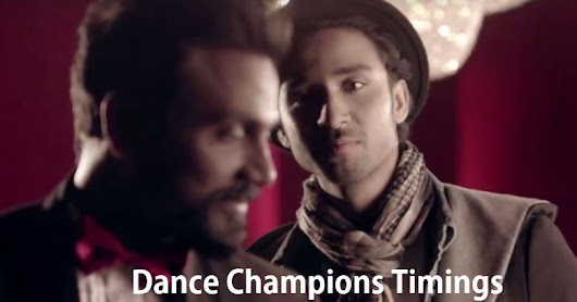 Dance Champions Star Plus Show Timings: Date, Time Announced: Promo