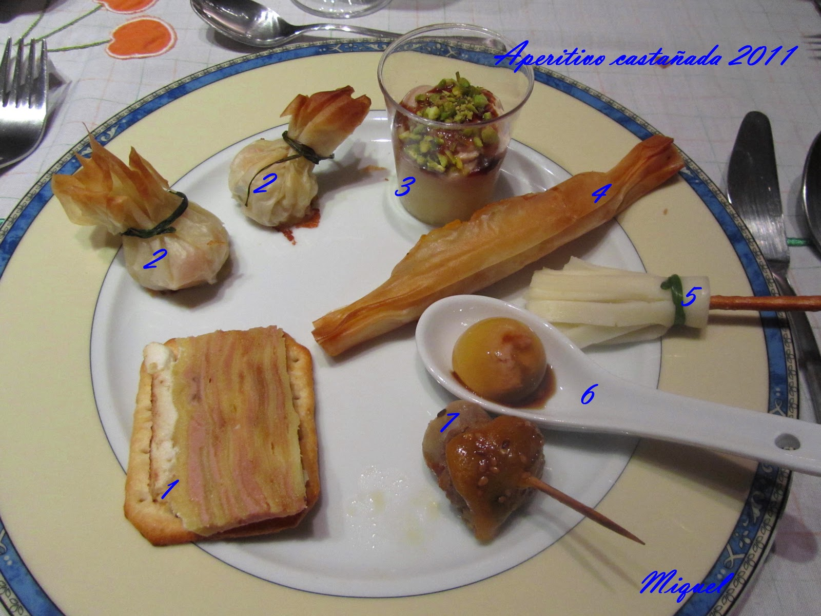 Les Receptes Del Miquel Men De La Castanyada 2011 ~ Recetas Para Una Cena Con Amigos