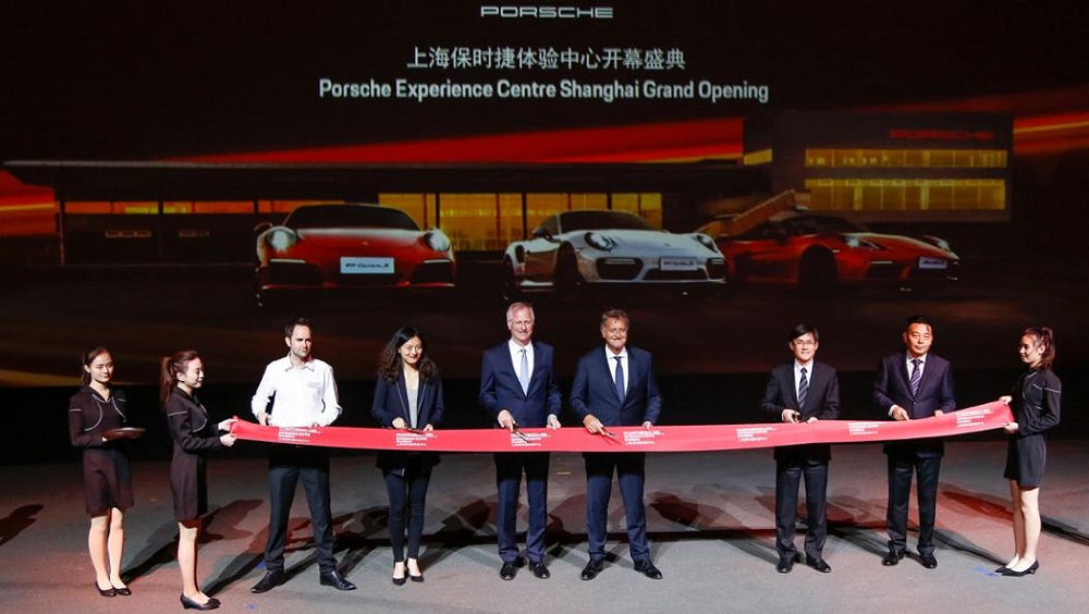 Porsche opens a new experience centre in Shanghai
