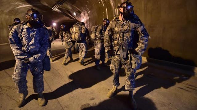 EEUU entrena a tropas para guerra en túneles con Corea del Norte