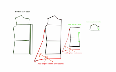 You also need to extra for the Underlap of the button placket