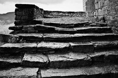 Escalera de la iglesia