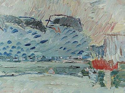 Jan Cybis, Pejzaż