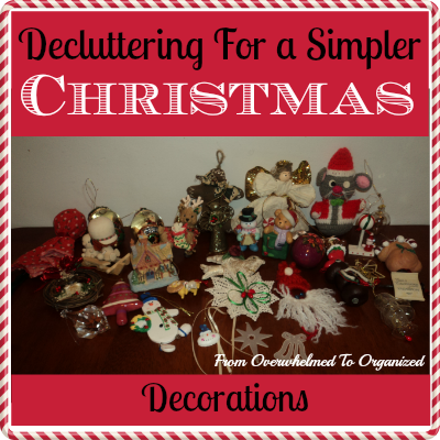 Decluttering For A Simpler Christmas Holiday Decorations