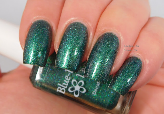 Blue-Eyed Girl Lacquer's Green's Alexandrite With Me