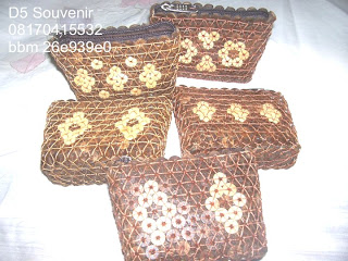 souvenir dompet batik kecil, souvenir khas jogja, souvenir dompet batok