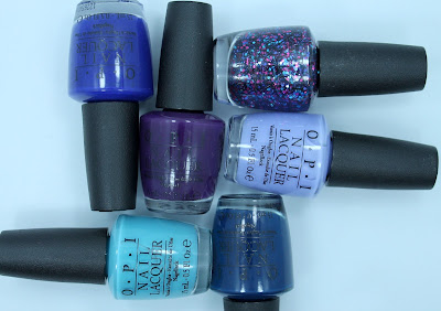 Part I: OPI Euro Centrale Collection Swatches & Review