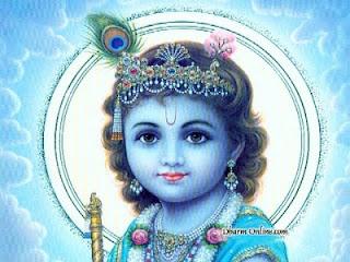 Shri Lord Krishna Baby Pic