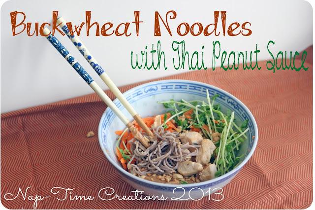 noodles with Thai peanut sauce