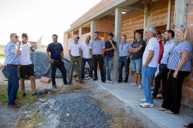 Aporte municipal: Avanza la construcción del estadio de KDT