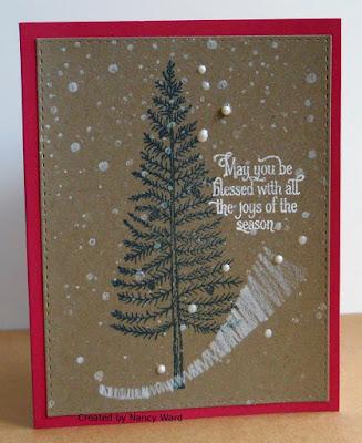 ODBD Joys of the Season, ODBD Customer Card of the Day created by Nancy Ward