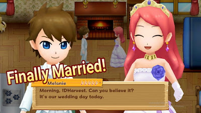 How to Get Married in Harvest Moon: Light of Hope