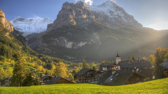 Wallpaper: Landscape and Travel to Grindelwald