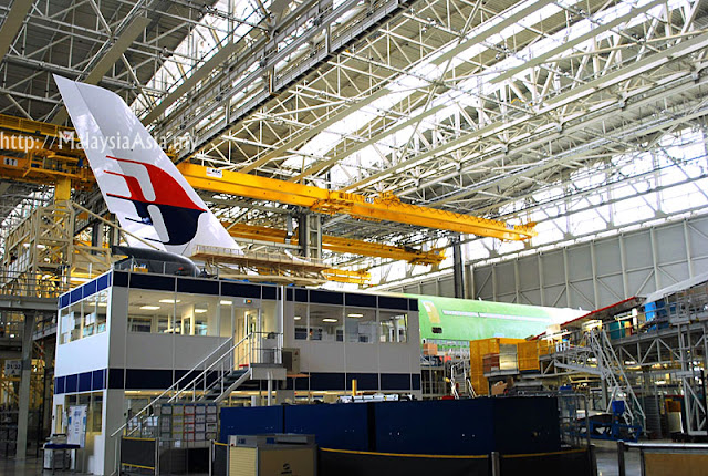 Airbus A380 Plane in Factory