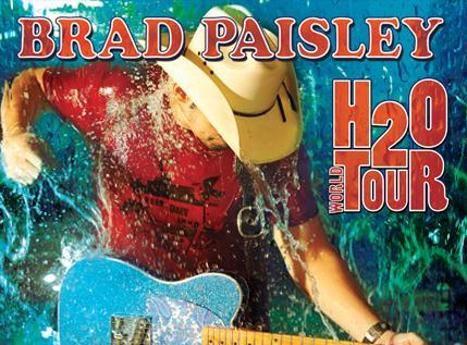 Brad Paisley Concert Travelin With Jc