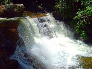 Cachoeira das Sete Quedas, Sana