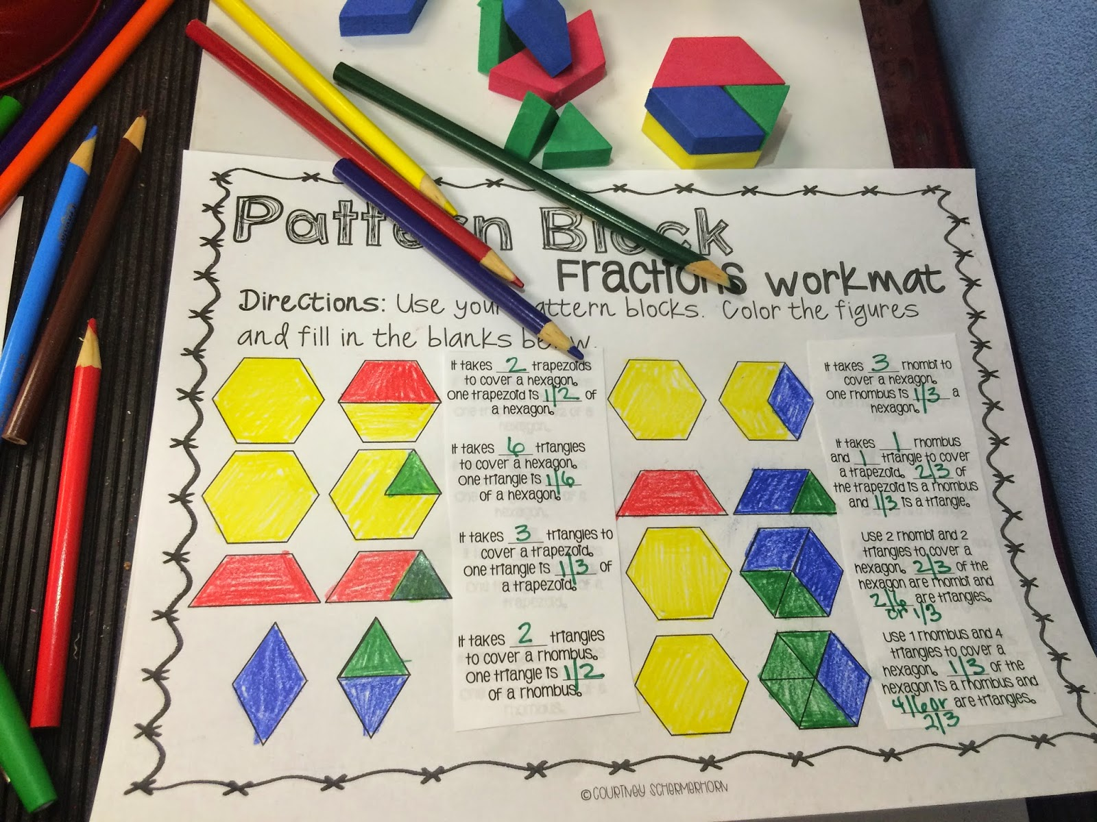 Mommy Is A Teacher Fraction Frenzy