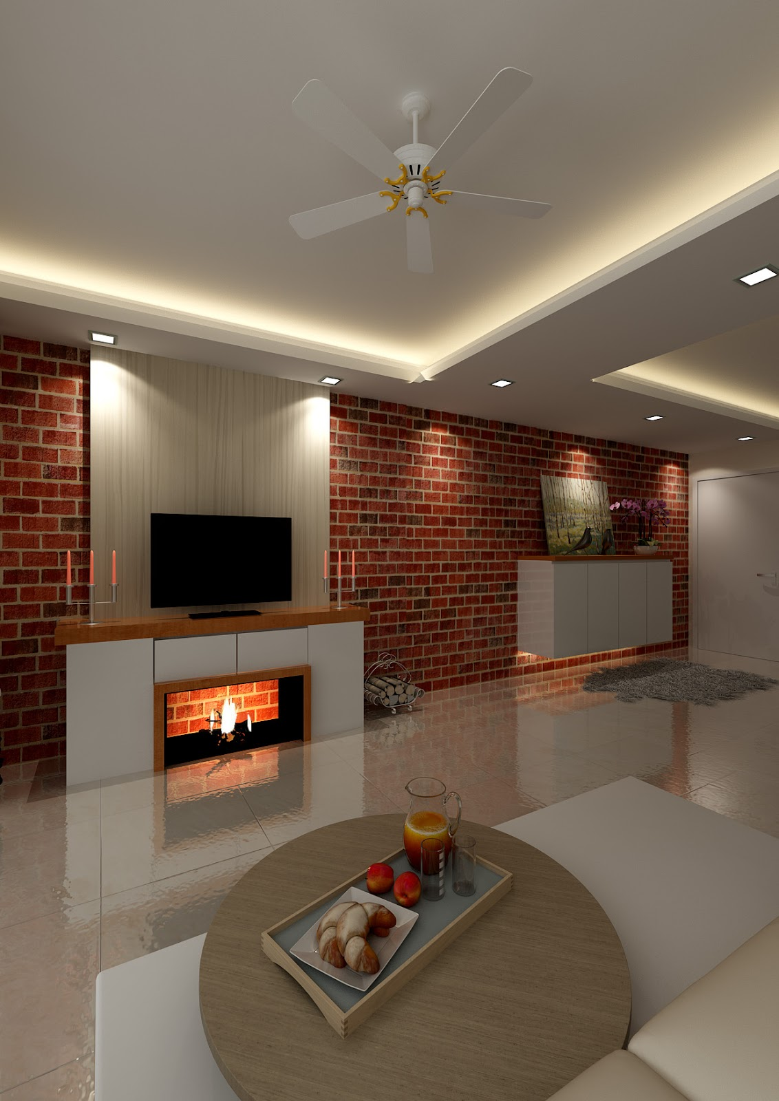 Renovation Ideas For 4a Hdb Living Room: IMBUED With LOVE: Contractor Or Interior Designer For HDB