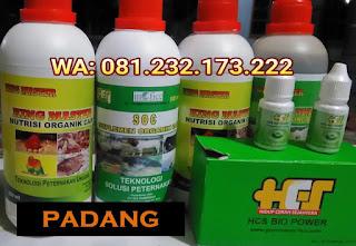 Jual SOC HCS, KINGMASTER, BIOPOWER Siap Kirim Padang