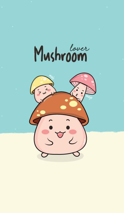 Mushroom lover.