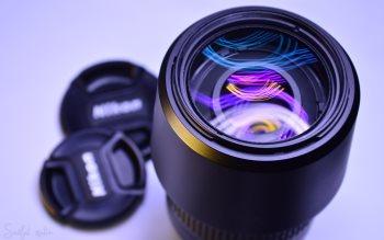 Wallpaper: Nikon Lens