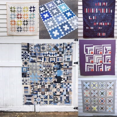 2018 Quilt finishes - Kristy Daum  #quilting #modernquilting #sewing