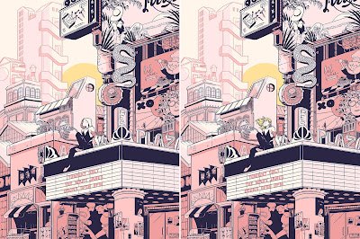Spider-Gwen Marvel Screen Print by Rosemary Valero-O'Connell x Mondo - Regular & Unmasked Variant Editions