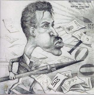 Auto-caricatura Faria