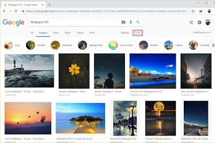 Cara Mendapatkan Gambar Resolusi Bagus di Google