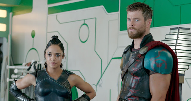 Chris Hemsworth Tessa Thompson Taika Waititi | Marvel Studios | Thor: Ragnarok