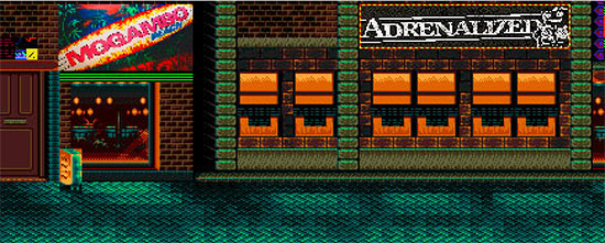 <center>Adrenalized release 'Tales From The 8-Bit'... videogame!</center>