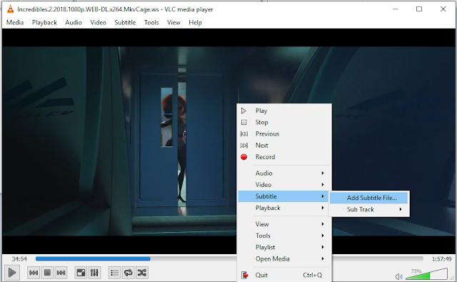 Cara Memasukan Subtitle ke Dalam Film Beserta Cara Download Subtitle