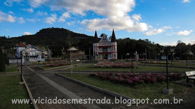 Praça de Forquetinha, RS