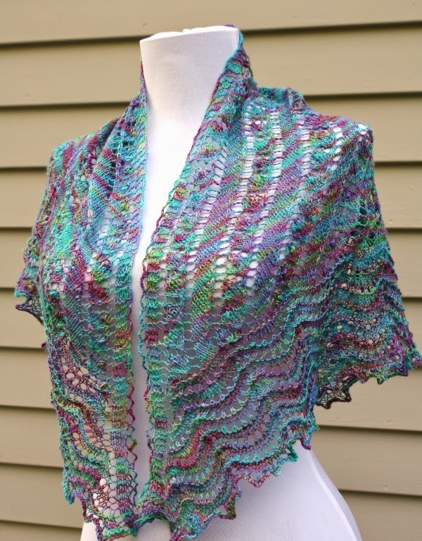 All Knitted Lace: Estonian Lace challenge: May Shawl