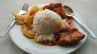 Makan di RM Bopet Mini Benhil