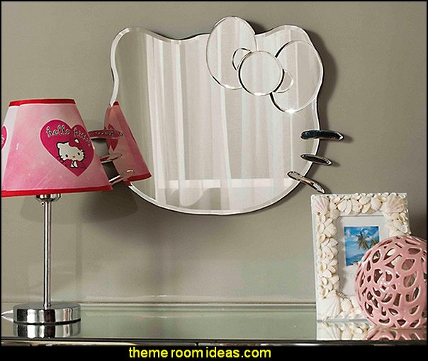 hello kitty dressing mirror for girl princess vanity mirror