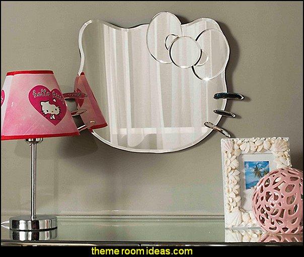 hello kitty dressing mirror for girl princess vanity mirror