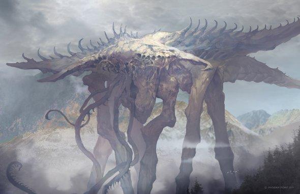 Svetoslav Petrov artstation deviantart arte ilustrações fantasia terror games sombrio monstros criaturas